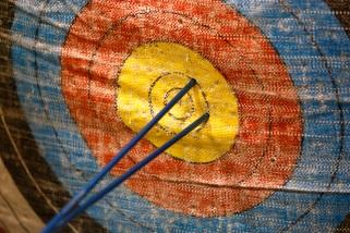On Target with Kiwanis Archery Shoot on Saturday, Nov. 9, 2013 in Lawton, Okla. Photo by Steve Sisney