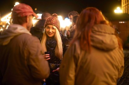 Impressions from the the Christmas-Market in Erbach: Sabrina (max.bechthold@gmx.de) at the mulled wine booth.