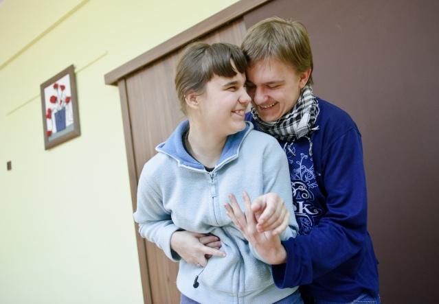 PHOTO: BARTOSZ KRUPA/EAST NEWS OWINSKA, 29/01/2013. OSRODEK OPIEKUNCZO - WYCHOWAWCZY DLA DZIECI NIEWIDOMYCH W MIEJSCOWOSCI OWINSKA. Owinska, Poland 29/01/2013 The school for blind children in Owinska.