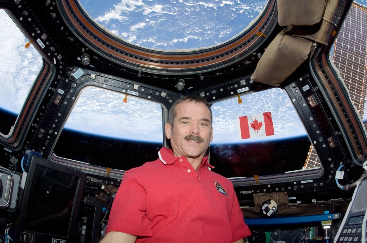 The-Canadian-Flag-in-Orbit