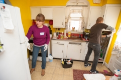 Kiwanis Club, Young Professionals, DC chapter volunteer service project with Seabury Resources for Aging. Photo by Alexis Glenn