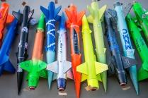 Umatilla Elementary School rocket launch, photo by Roberto Gonzalez