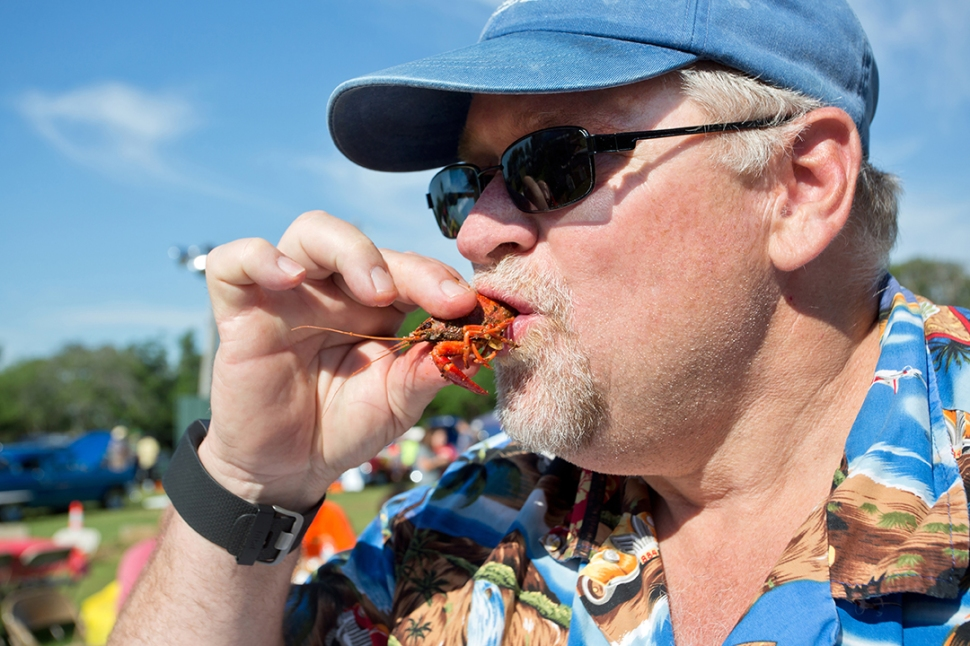 Kiwanis Crawfish Boil Cedar Creek Lake Tx 050716
