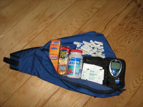Counselor pack supplies