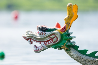 RENO, NV - AUGUST 19: The Dueling Dragons of Orlando compete in the Northern Nevada International Dragon Boat Festival at the Sparks Marina in Sparks, Nev., Saturday, Aug. 19, 2017. (Photo by David Calvert for Kiwanis International)