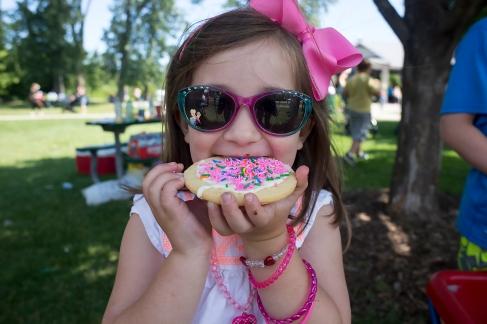 The Ontario Kiwanis Kids Free Day at the Kiwanis Children's Animal Farm at Canatara Park on Saturday, July 8, 2017 in Sarnia, Ontario.