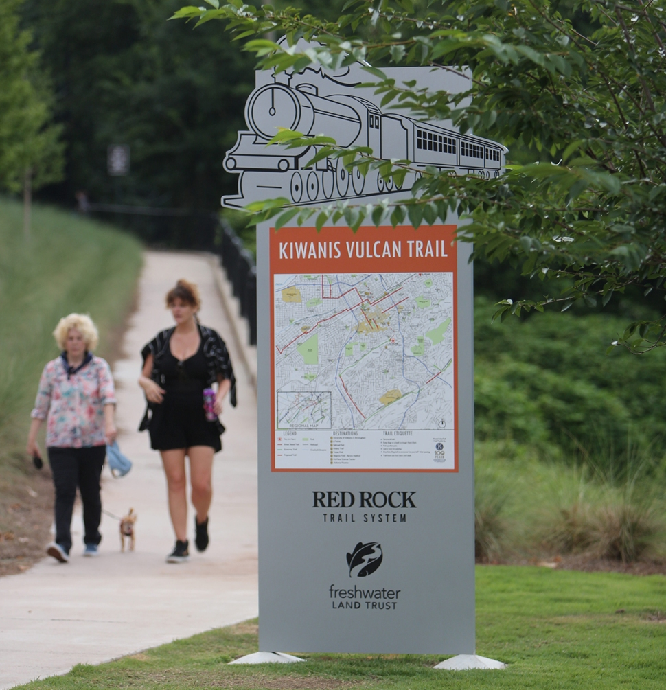 Vulcan Park Trail Kiwanis Plaza McKinneyM
