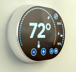 Intelligent home automation system: Fahrenheit temperature multimedia thermostat