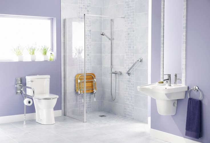 Bathroom for disabled