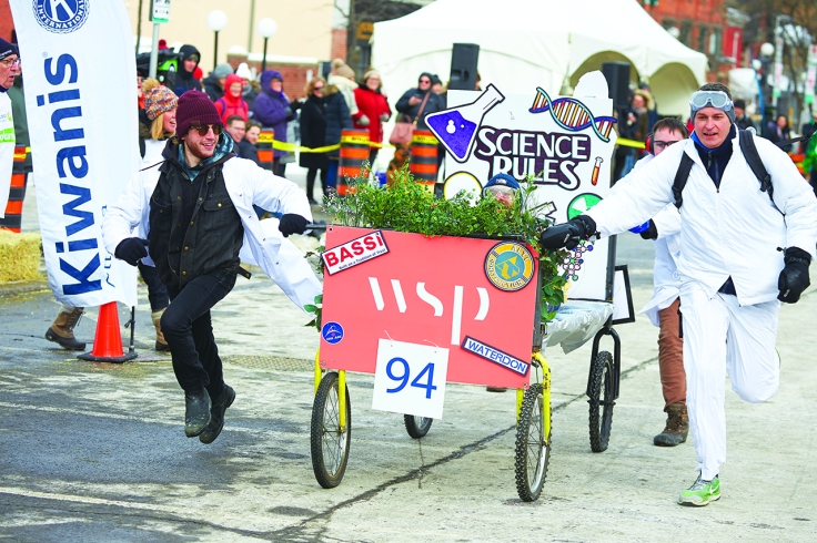 2020 Accora Village Bed Race for Kiwanis